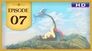 The Legend of Zelda: The Wind Waker HD - Episode 07 | Dragon Roost Cavern - Grappling Hook
