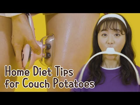 Home Diet For Couch Potatoes • ENG SUB • dingo kbeauty