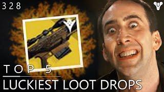 Destiny: ZEN METEOR!! - Top 5 Luckiest Loot Drops Of The Week / Episode 238
