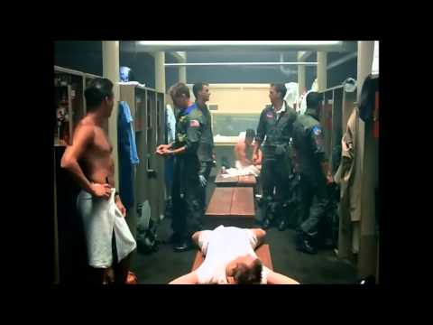 Top Gun Shower Scene