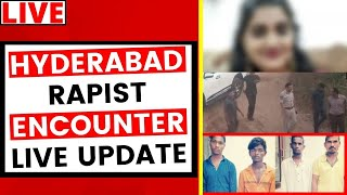 Hyderabad Police Encounter Live Updates: Hyderabad rape accused shot dead LIVE | NewsX