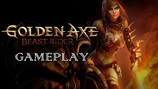 Golden Axe Introductory Gameplay Xbox 360