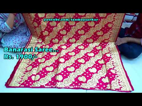 Beautiful Banarasi Sarees Of India | Wedding Collection For All With Wholesale Prices