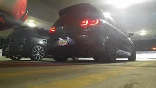 VW Mk6 GTI Exhaust Pops Magnaflow Catback + Stratified Crackle Tune