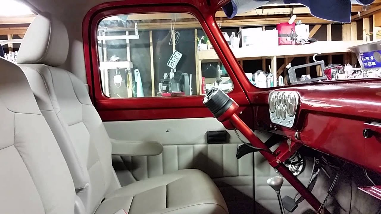 Interior Progress On My 1955 Ford F100 Youtube