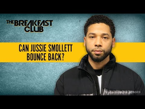 Can Jussie Smollett Bounce Back After His Arrest?