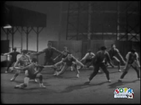 "West Side Story  ""Cool""  on The Ed Sullivan Show"
