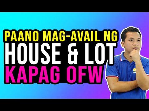 Paano Mag-Avail Ng House & Lot Ang Isang OFW Thru Pag-Ibig?