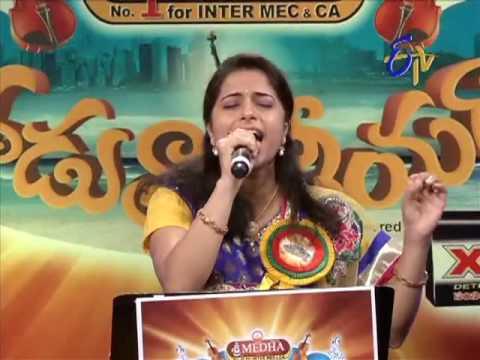 Aha Naa Pellanta Song - Vamsi Priya Performance in ETV Padutha Theeyaga - USA -ETV Telugu