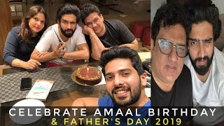 Celebrate Birthday & Father& 39 s Day Together Amaal Armaan Daboo Jyothi & Handsome Malik SLV2019