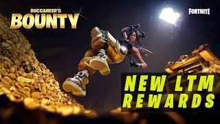 "*NEW* ""Buccaneer's Bounty LTM"" Challenges & Rewards! (Fortnite Battle Royale)"