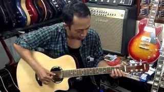 belajar melody gitar lagu bunda bersama bang andi