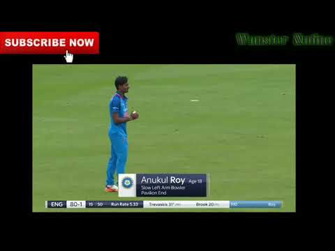 Magical Bowling By Anukul Roy u19-india 2017