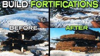 إعادة بناء المنازل وخلق غطاء في BF5! - المعركة 5 التحصينات (دليل)