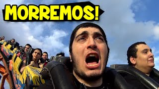 FÉRIAS EM BALNEÁRIO CAMBORIÚ #8 - MORREMOS NA MONTANHA RUSSA!! thumbnail