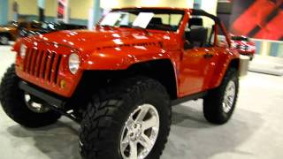Chrysler Jeep Lower Forty at the 2010 international Miami Auto Show