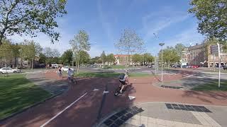 A roundabout in 's-Hertogenbosch (Netherlands)