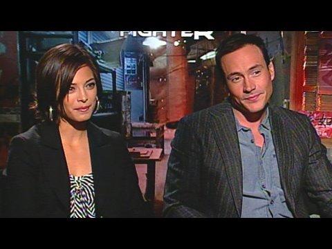 Kristin Kreuk and Chris Klein on 'Street Fighter'
