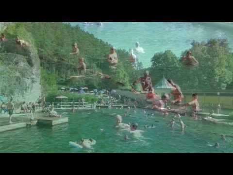 Pottenstein  Das Felsen Schwimmbad