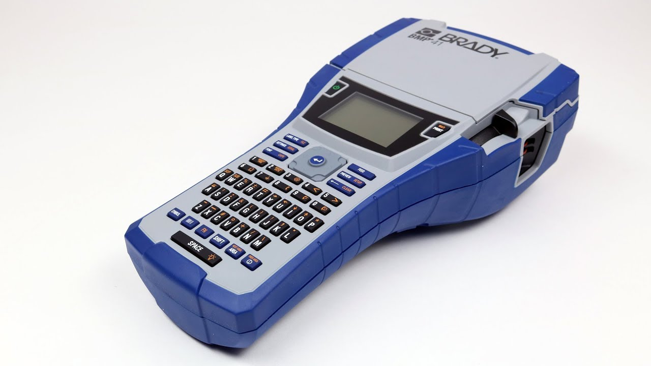 Amazon.com: Brady BMP21-PLUS Handheld Label Printer with Rubber .