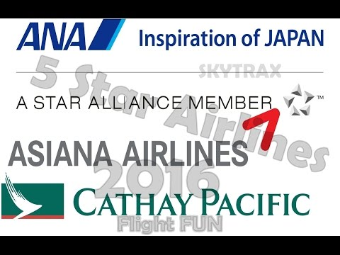 Skytrax: The World's 5 Star Airlines Of The Year!!