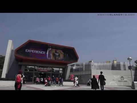 180210 Tomorrowland MARVEL Super Hero Attractions Construction Update at Hong Kong Disneyland