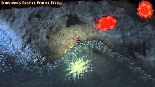 Path of Exile - Survivor's Respite Portal Effect