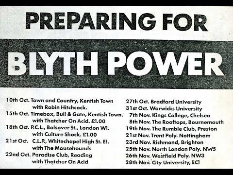 Blyth Power Polytechnic Of Central London 1986