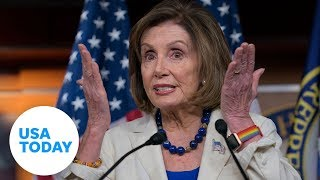 House Speaker Pelosi gives weekly news conference