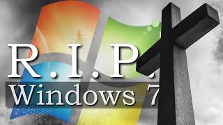 Heute stirbt Windows 7