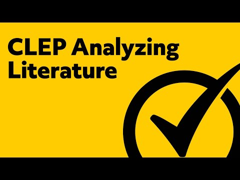 Best Free CLEP Analyzing Literature Study Guide