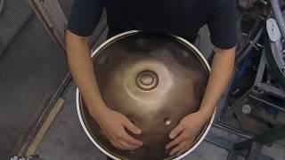 """雲上/Oxalis 19.5""""/495mm  Handpan/ハンドパン  sonobe HFS SUS 47520"""