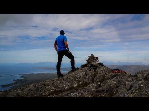 North west highlands - mountain walk with sea views - Rois Bheinn Corbett Circuit in Moidart