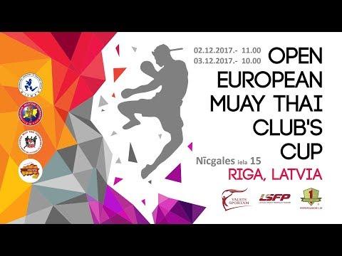 Live European Muaythai CLUB'S CUP 2017