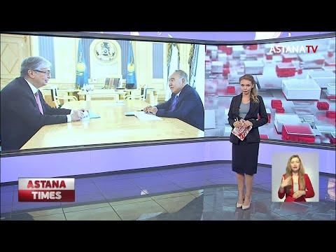 Назарбаев и Токаев обсудили развитие Казахстана в посткризисный период