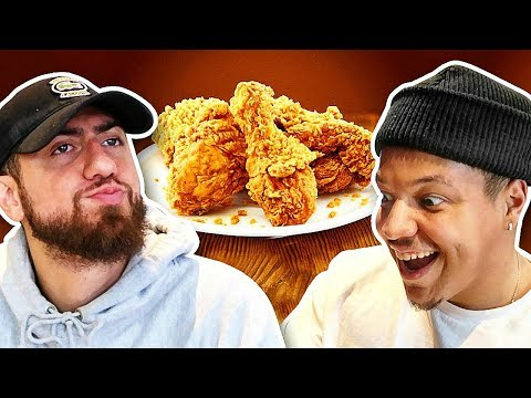 Who Can Cook The Perfect FRIED CHICKEN?! *TEAM ALBOE FOOD COOK OFF CHALLENGE*