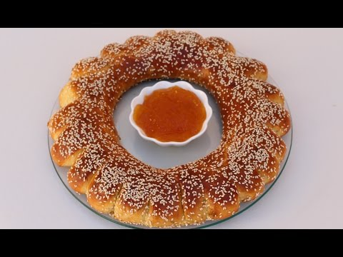 جديد كعك مثل البريوش بحجم كبير سريييع وخفيف