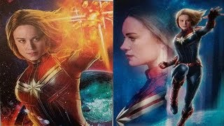 CAPTAIN MARVEL LEAKED PHOTOS AND POSTERS AND YOUNG NICK FURY
