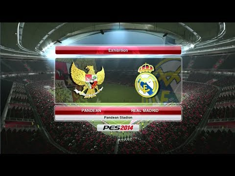Pes 2014 Pandean Indonesia Vs Real Madrid Youtube