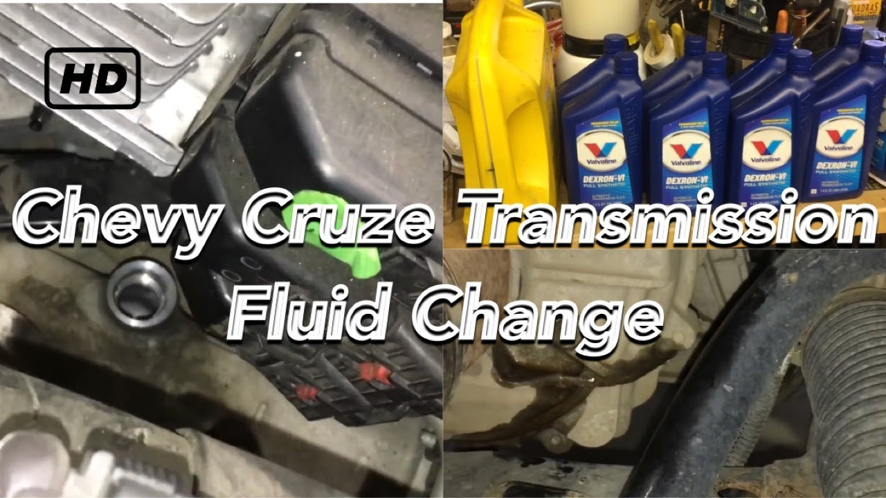 Chevy Cruze Problems >> Chevy Cruze transmission fluid change 2008-2016 1.4L Turbo ...