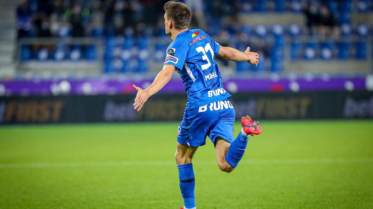Man of the match:Joakim Maehle( KRC Genk-Charleroi) - YouTube