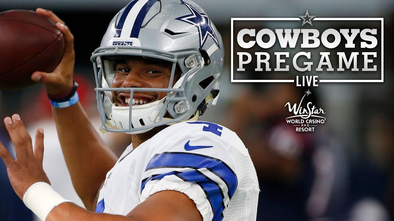 f9b1ac57 Pregame LIVE - Saints vs. Cowboys | Dallas Cowboys 2018 - YouTube