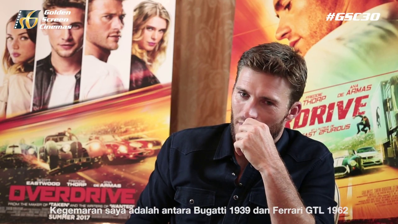 Overdrive interview with scott eastwood in paris junket youtube overdrive interview with scott eastwood in paris junket ccuart Images