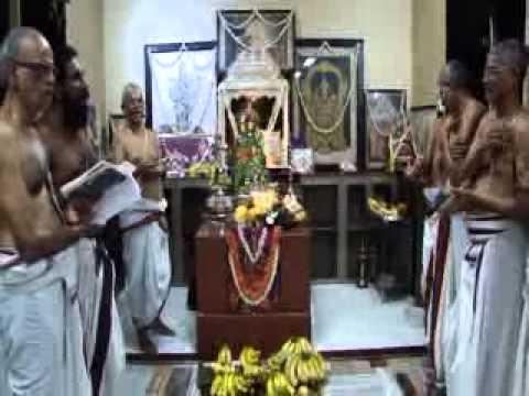 Satrumrai Desika Prabandham Sri Ramanuja Jaynathi at Mumbai Sri Krishna Sabha