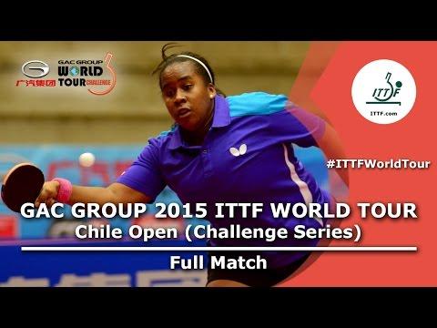 2015 Chile Open FULL MATCH: MEDINA Paula vs ROJAS Karen (1/8)