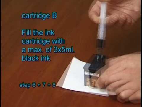Lexmark 32, 34 refill instructional video youtube.