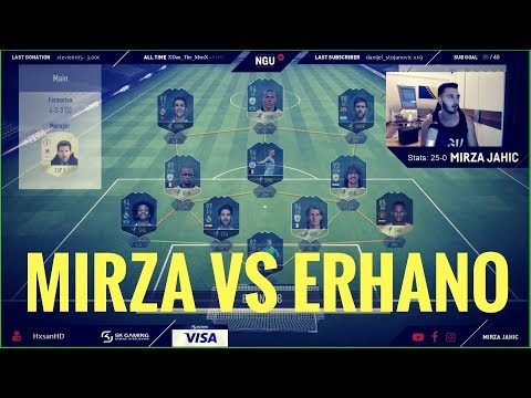 MIRZA VS DR. ERHANO IN FUT CHAMPIONS BEI 25-0! | FIFA 18 WEEKEND LEAGUE
