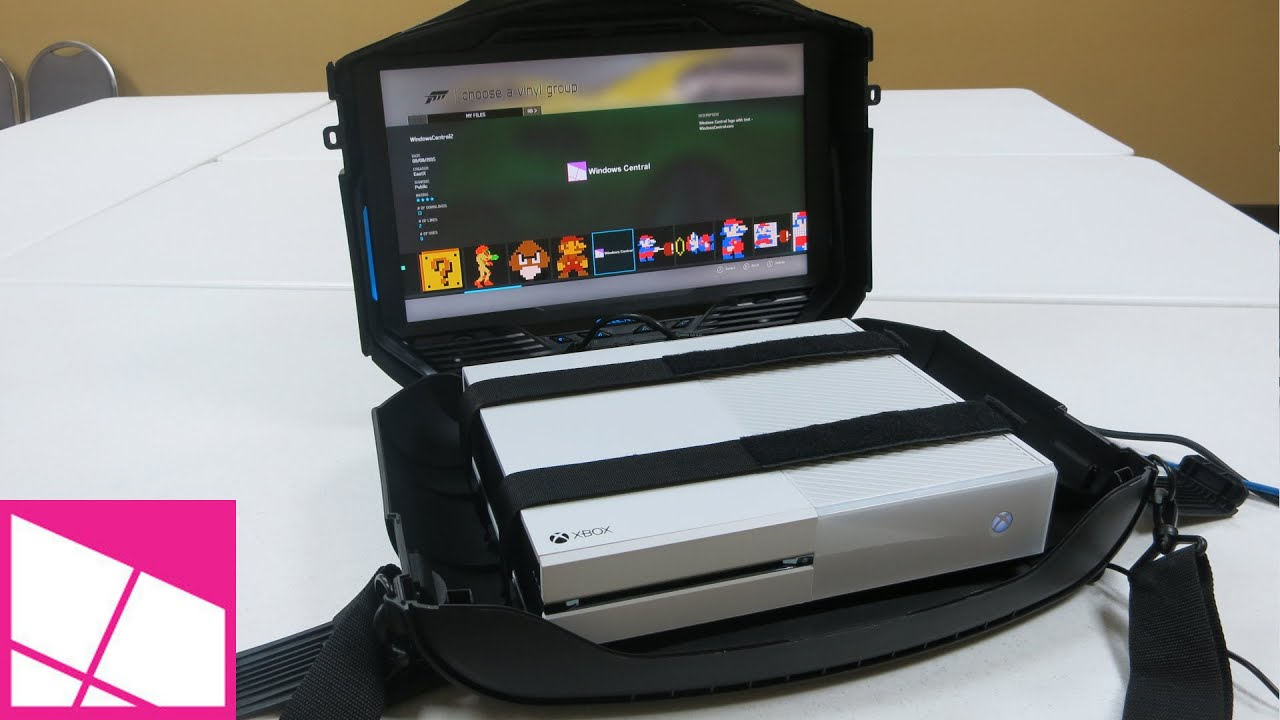GAEMS Vanguard Black Edition - Console Carrying Case ...