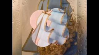 Корабль из конфет. 3 мая 2017 г.