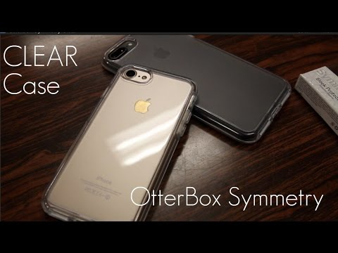 buy online f039d c3902 The most Protective Clear Case? - OtterBox Symmetry CLEAR Edition - iPhone  7 / 8 PLUS